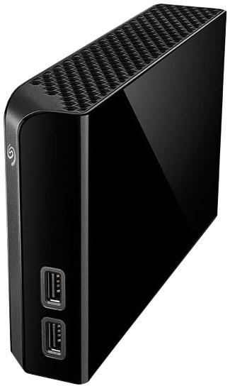 Seagate Backup Plus Hub - 4TB, černá