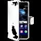 CELLY Wally Pouzdro typu kniha pro Huawei P10, PU kůže, bílé