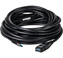Club3D USB 3.0 SuperSpeed, 5Gbps, aktivní USB prodlužka,10m - CAC-1402