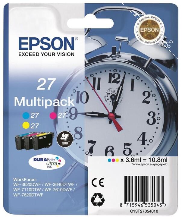 Epson C13T27054010, Multi-pack C/M/Y