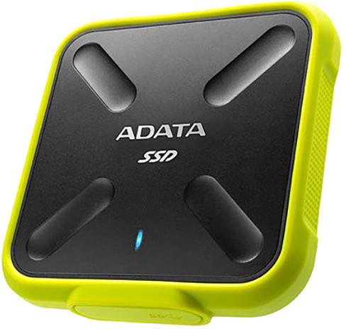 ADATA SD700, USB3.1 - 256GB, žlutá
