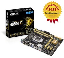 ASUS B85M-G - Intel B85 - 90MB0G50-M0EAY0