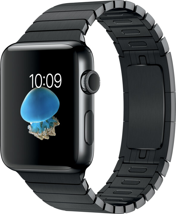 Apple Watch 2 42mm Space Black Stainless Steel Case with Space Black Link Bracelet