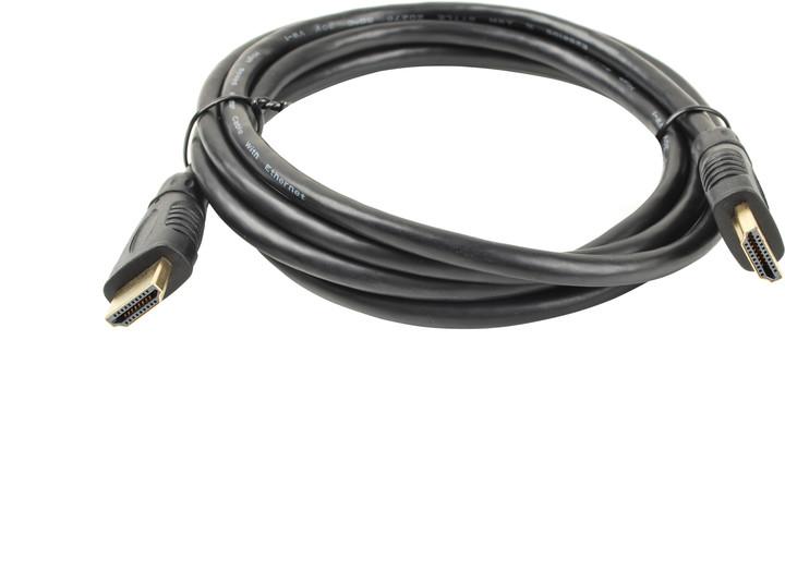 PremiumCord HDMI A - HDMI A (v. 1,4) M/M - 3m