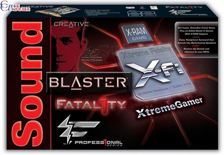 Creative Labs X-Fi mX Xtreme Gamer-Fatal1ty Pro