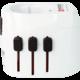 Skross PRO Light USb, 6.3A max., vč. USB nabíjení, uzemněný, UK+USA+Austrálie/Čína
