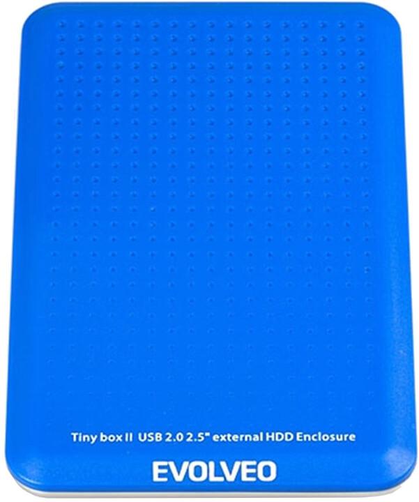 EvolveoTinyBox II - box pro HDD