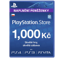Playstation Network Card - 1000 Kč - PS719894032