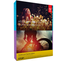 Adobe Photoshop + Premiere Elements 15 CZ Student & Teacher - 65273316