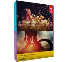 Adobe Photoshop + Premiere Elements 15 CZ Student & Teacher - 65273316