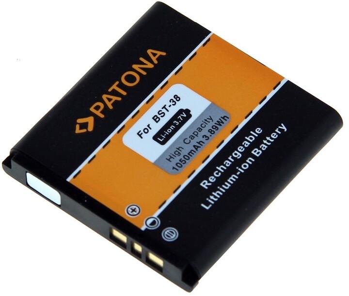 Patona baterie pro Sony Ericsson BST-38 1050mAh 3,8V Li-Ion