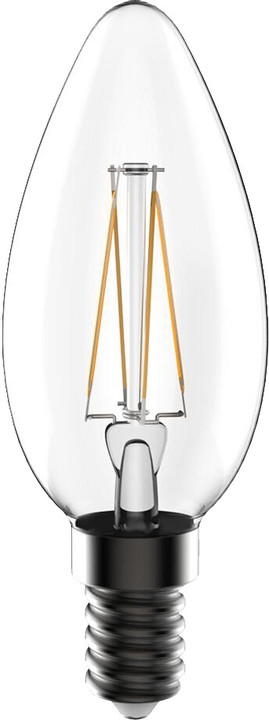 Tesla Crystal Retro E14/230V, 3,2W, teplá bílá, 350lm, akce 1+1