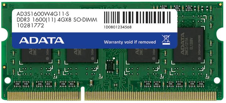 ADATA 8GB DDR3 1600 SO-DIMM