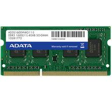 ADATA 8GB DDR3 1600 SO-DIMM CL 11 - AD3S1600W8G11-R