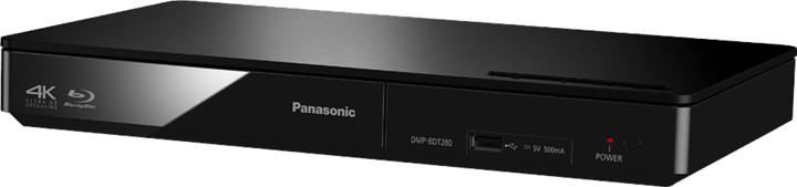 Panasonic DMP-BDT280EG, 3D, černá