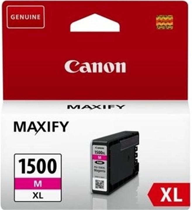 Canon PGI-1500XL M, purpurová