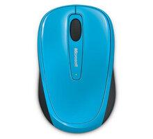 Microsoft Mobile Mouse 3500, modrá - GMF-00272