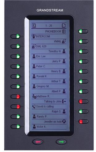 Grandstream GXP2200-EX, rozšiř. modul pro GXP2140, GXV3240 a GXP2200