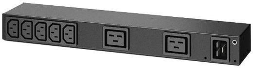 APC rack PDU, 0U/1U, 100-240V/20A, 220-240V/16A, (7) C13, (2) C19