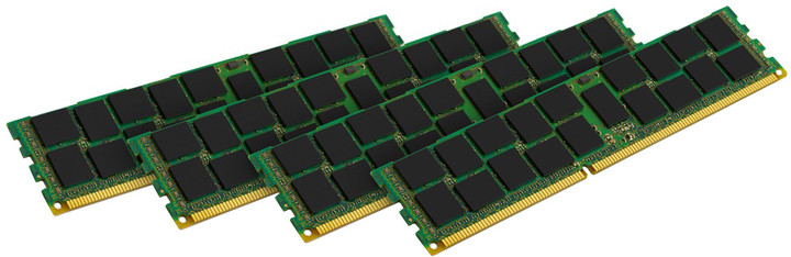 Kingston System Specific 32GB (4x8GB) DDR3 1600 Reg ECC Single Rank brand HP