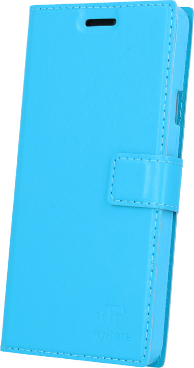 myPhone pouzdro s flipem pro PRIME PLUS, modrá