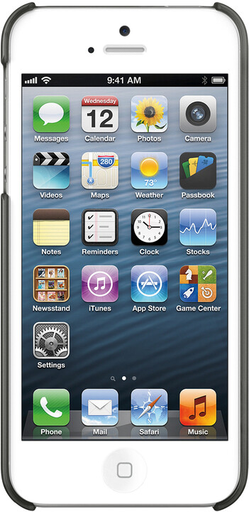 Belkin Pouzdro Shield Sheer Matte iPhone 5, černá