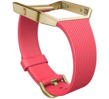 Fitbit Blaze Slim řemínek zlatý kov S, růžová - FB159ABGPKS