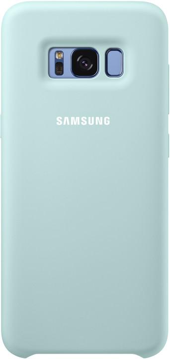Samsung S8 silikonový zadní kryt, modrá