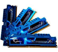 G.SKill RipjawsX 32GB (4x8GB) DDR3 1600 CL9 CL 9 - F3-1600C9Q-32GXM