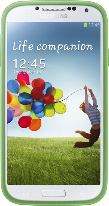 Samsung ochranný kryt plus EF-PI950BGEG pro Galaxy S 4, žlutozelená