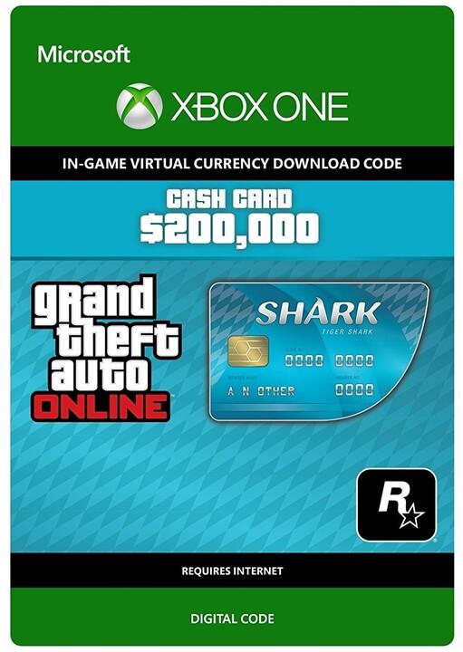 Grand Theft Auto V - Tiger Shark Cash Card (Xbox ONE) - elektronicky