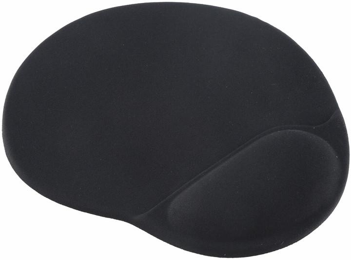 Gembird podložka pod myš Gembird Ergo Maxi, černá