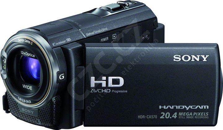 Sony HDR-CX570EB, černá