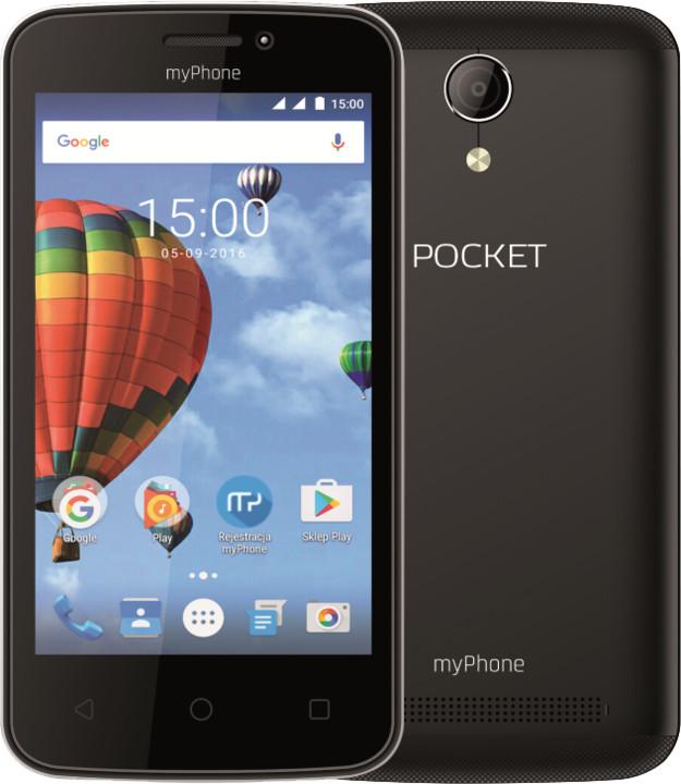 myPhone POCKET, černá