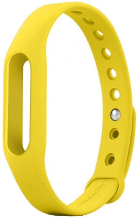 Xiaomi náhradní pásek pro Xiaomi Miband, žlutá