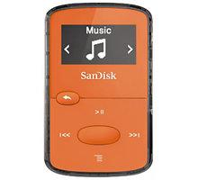 SanDisk Sansa Clip Jam 8GB, oranžová - SDMX26-008G-G46O