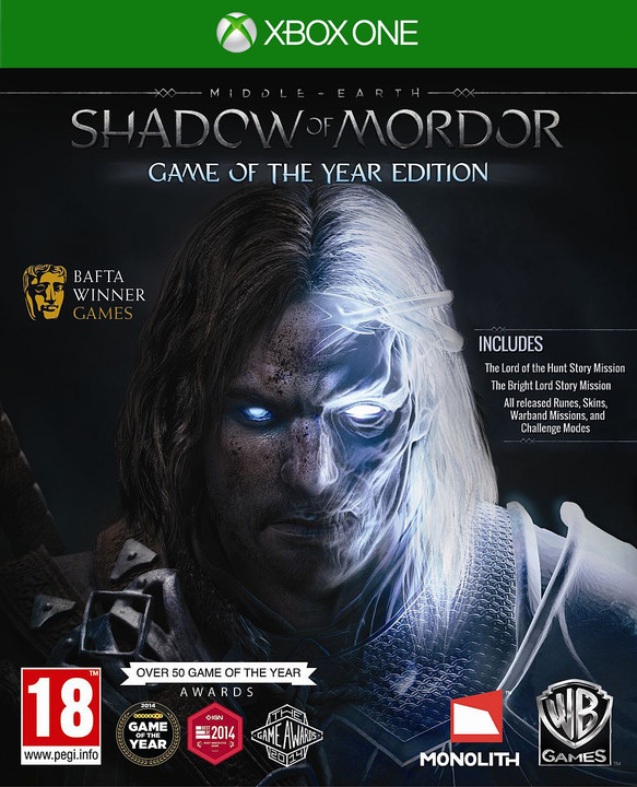 Middle Earth: Shadow of Mordor Game of The Year Edition - XONE