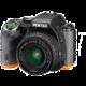 PentaxK-S2 černá/oranžová + DAL 18-50 DC WR RE + DAL 50-200 WR