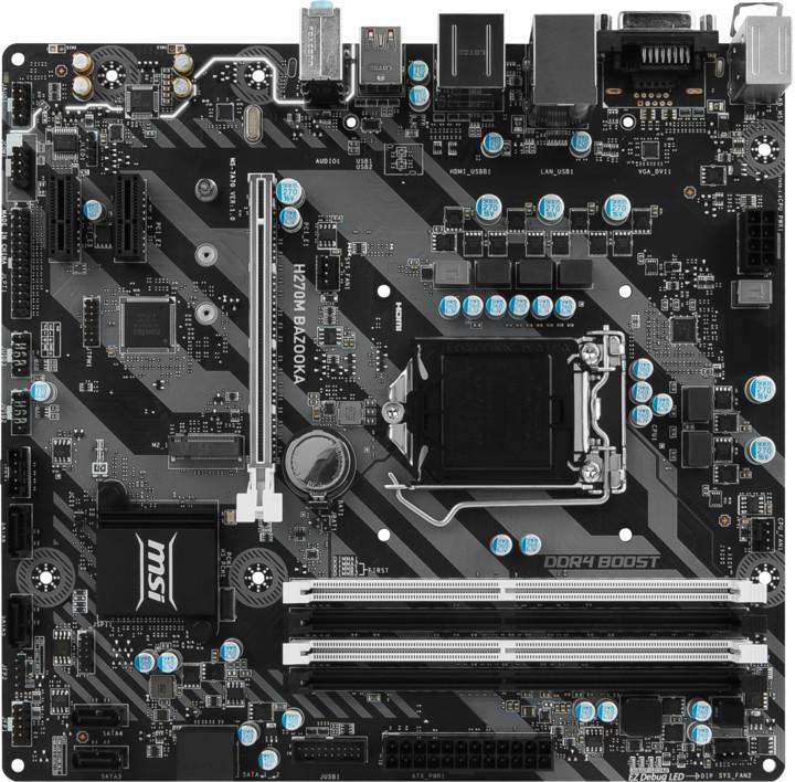 MSI H270M BAZOOKA - Intel H270