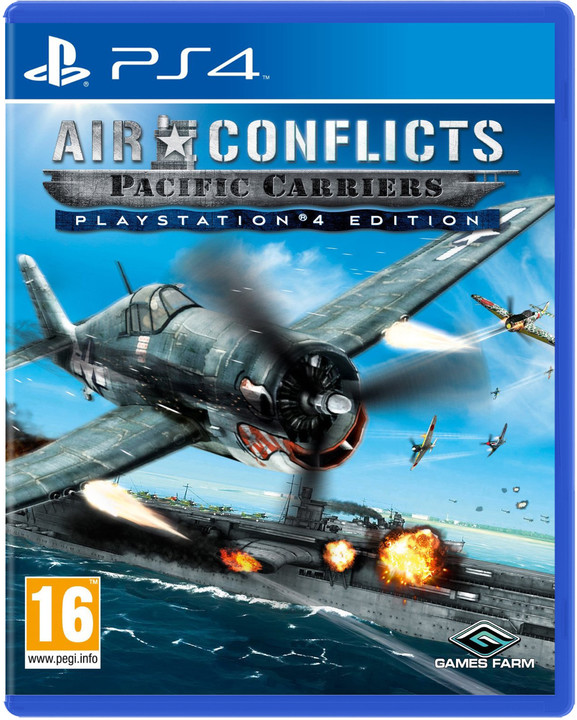 Air Conflicts: Pacific Carriers - PS4