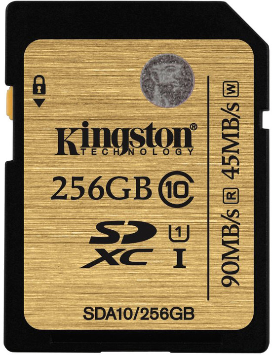 Kingston SDXC Ultimate 256GB Class 10 UHS-I