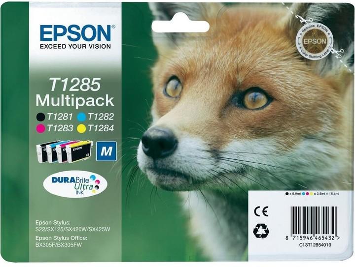 Epson C13T12854010, multi pack