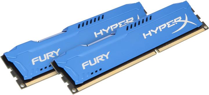 Kingston HyperX Fury Blue 16GB (2x8GB) DDR3 1866
