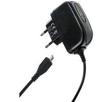 Aligator, micro USB nabíječka 5V/2A, černá - CDP0908