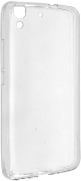 FIXED pouzdro pro Huawei Y6, bezbarvé