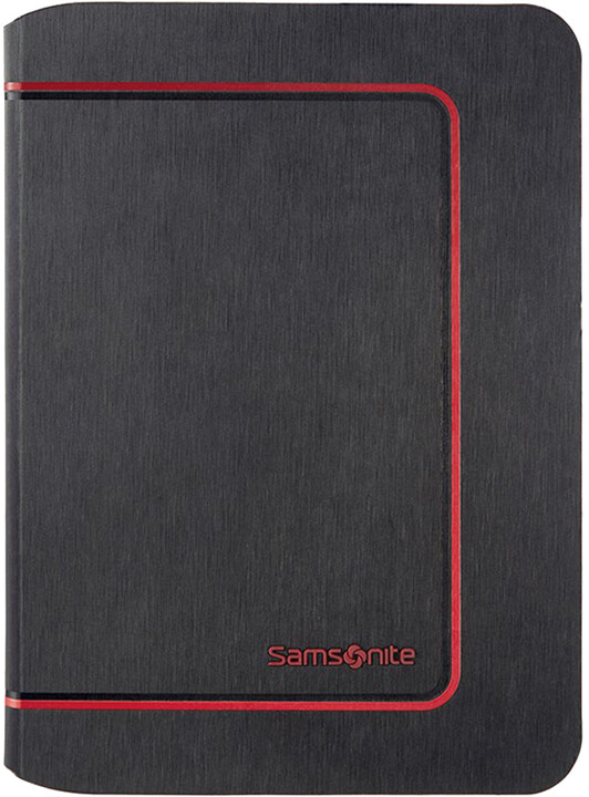 Samsonite Tabzone - COLOR FRAME-iPAD AIR 2, černo/červená