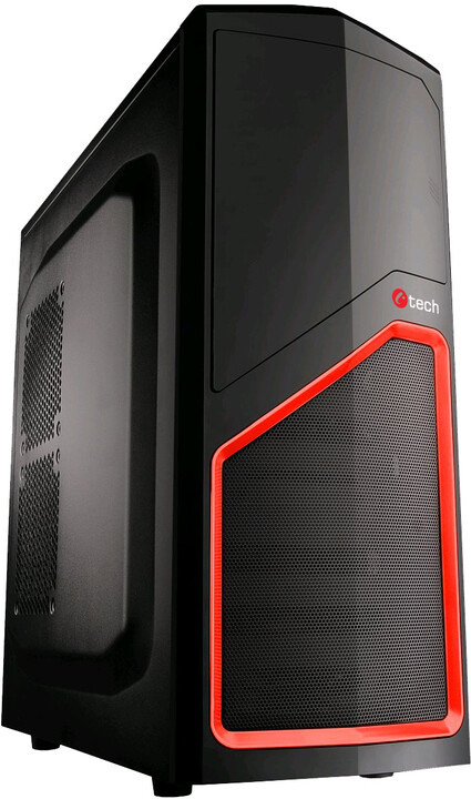 C-TECH LADON, černá/červená