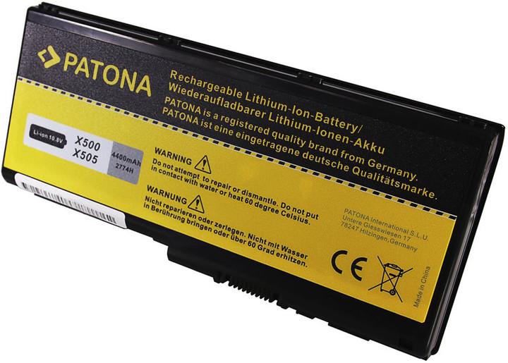 Patona baterie pro ntb TOSHIBA Qosmio X500 4400mAh Li-lon 10,8V