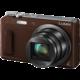 Panasonic Lumix DMC-TZ57, hnědá