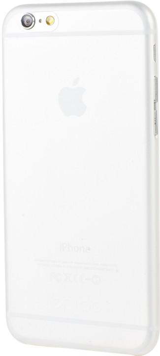 EPICO Ultratenký plastový kryt pro iPhone 6/6S TWIGGY MATT - čirá bílá